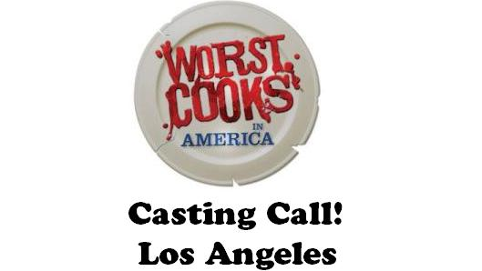 Food Network Worst Cooks Casting