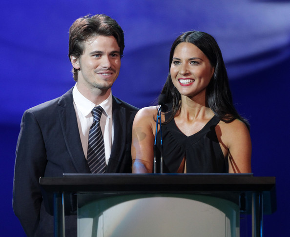 Jason Ritter & Olivia Munn - Photo by Frederick M. Brown/Getty Images North America