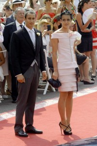 Alex Dellal and Charlotte Casiraghi