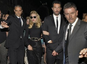 Madonna & Guy Oseary at the GUCCI Award For Women In Cinema in Venice