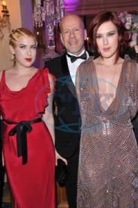 Scout Larue, Bruce and Rumer Willis