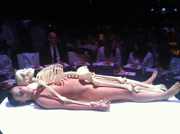 2011 MOCA Gala Artist Life Manifesto Directed by Marina Abramovic (pic from Jenny Peters)