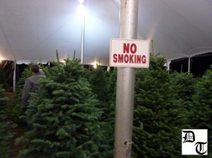 Mr. Greentrees - No smoking pls