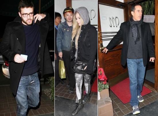 Justin Timberlake, Avril Lavigne, Jerry Seinfeld all dined at Madeo's last week