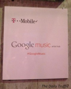 #GoogleMusic at Tao in Sundance
