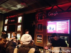 #GoogleMusic at Tao @ Sundance 2012