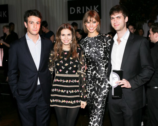 Independent Curators Benefit: Joshua Kushner, Dasha Zhukova, Karlie Kloss, Carter Cleveland Photo Courtest: BFA