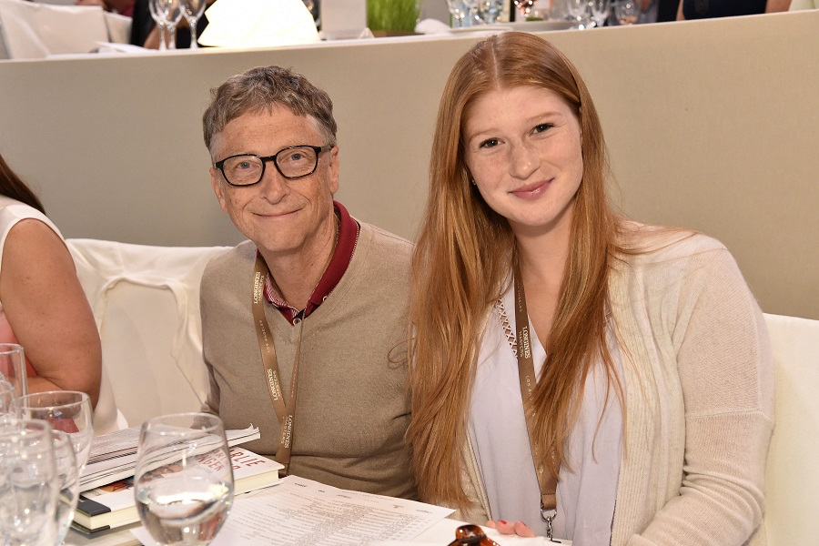 Bill Gates, Jennifer Gates Longines Masters, Day 4, Los Angeles, America - 04 Oct 2015 Photo by Rob Latour/REX Shutterstock