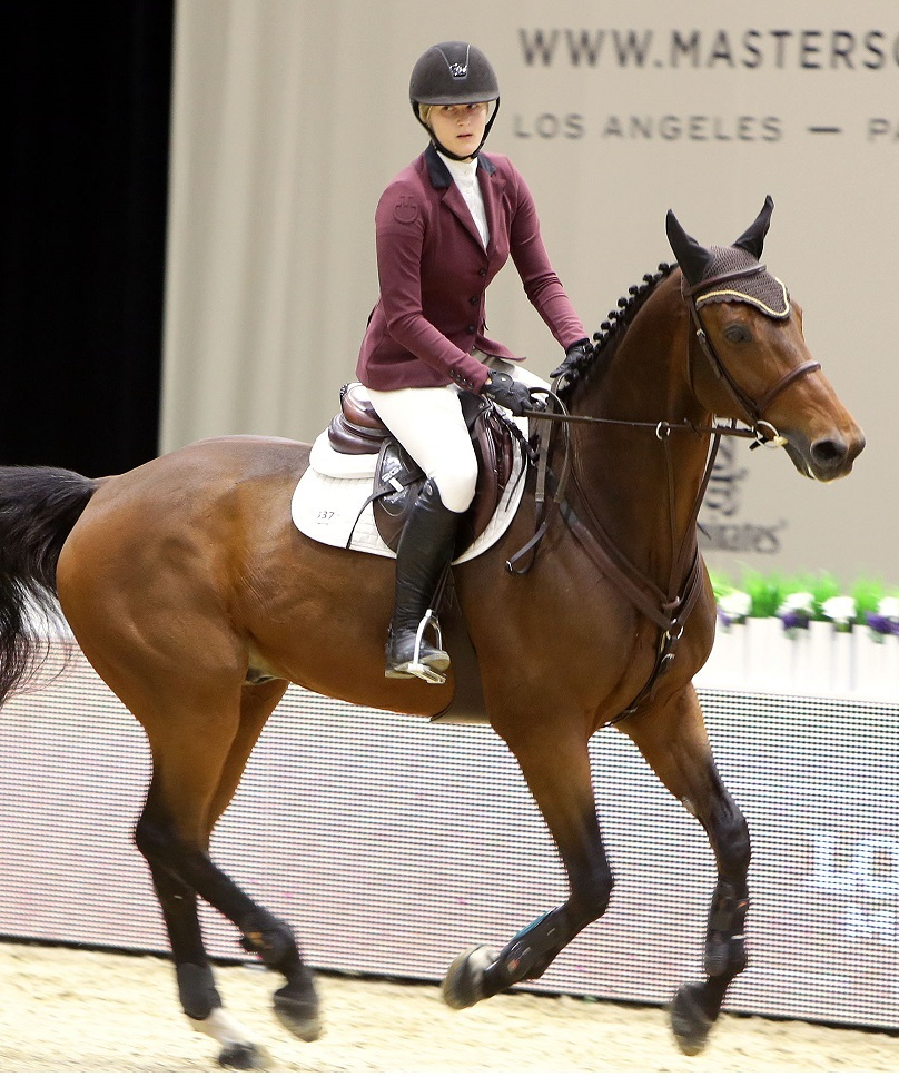 Photo by Eric Charbonneau/REX Shutterstock Destry Allyn Spielberg Longines Masters, Day 1, Los Angeles, America - 01 Oct 2015