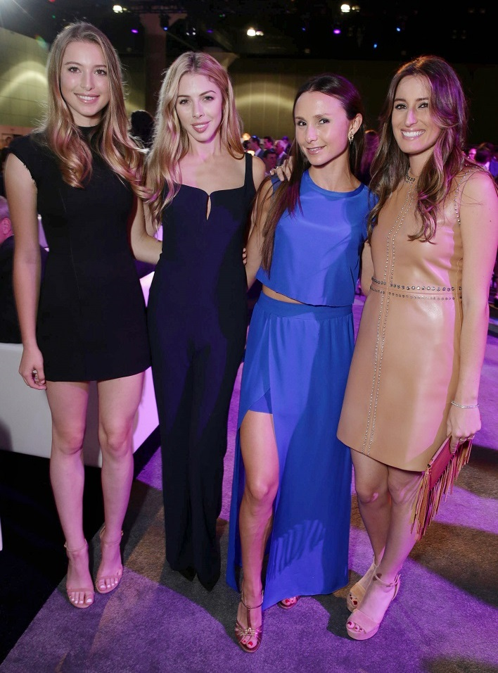 Photo by Eric Charbonneau/REX Shutterstock Eve Jobs, Hannah Margaret Selleck, Georgina Bloomberg and Jessica Springsteen Longines Masters Gala, Los Angeles, America - 01 Oct 2015